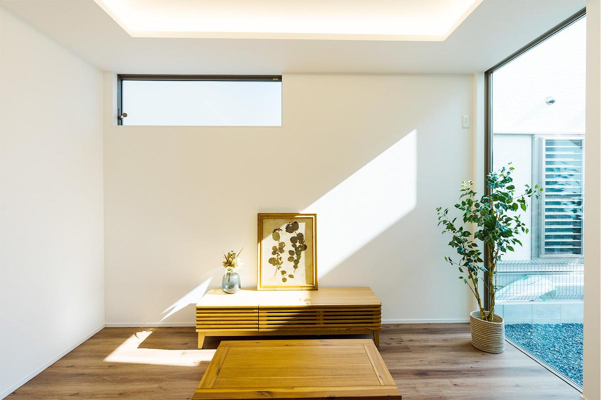 折り上げ天井の家の画像